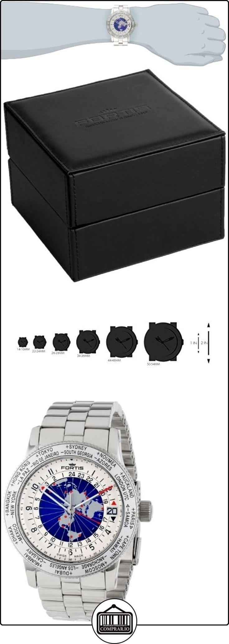 Fortis Reloj de hombre 674.20.15M B de 47World Timer GMT Limited Edition  ✿ Relojes para hombre - (Lujo) ✿