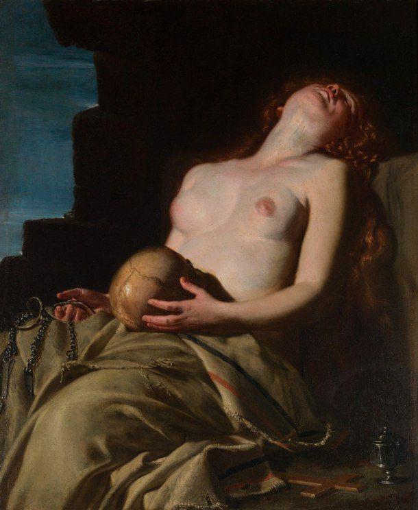 """""""Magdalena Desvanecida"""", de Artemisia Gentileschi, 1625"""