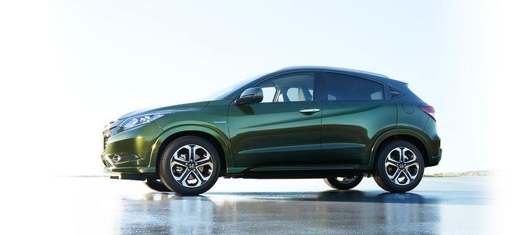 Honda Vezel Hybrid SUVの力強さと、クーペの美しさの融合。