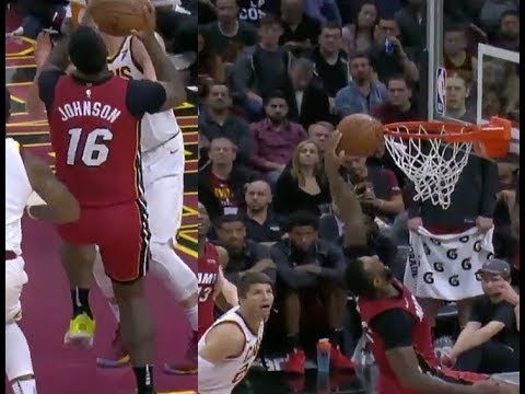 James Johnson had a Shaqtin a fool moment vs the Cleveland Cavaliers