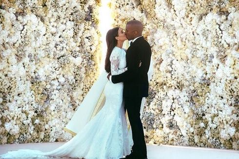 【ELLEgirl】カニエ・ウェストとキム・カーダシアンが結婚! 豪華挙式の総額は?|エル・ガール・オンライン