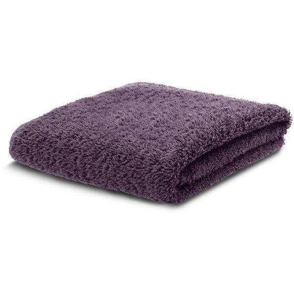 Abyss Super Pile hand towel - Purple ($34) ❤ liked on Polyvore featuring home, bed & bath, bath, bath towels, purple hand towels and purple bath towels