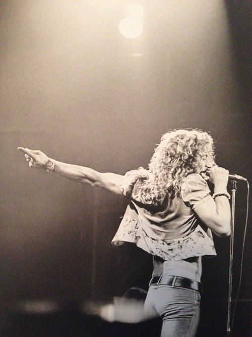 Robert Plant: Lead singer of the one and only, Led Zeppelin. England.