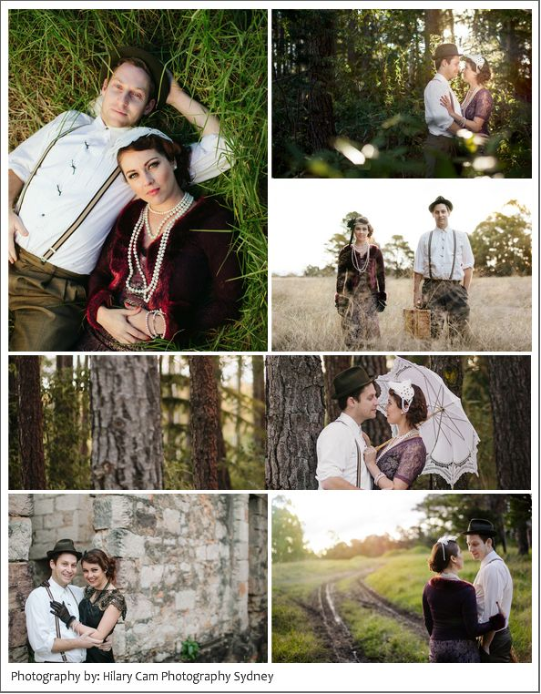 Ben and Biancas Vintage Prewedding