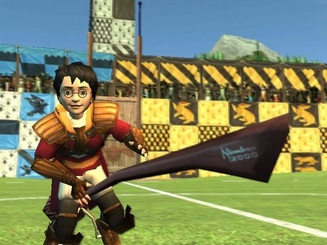 Harry Potter Quidditch World Cup Video Game Images