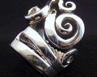 Hand made fork ring