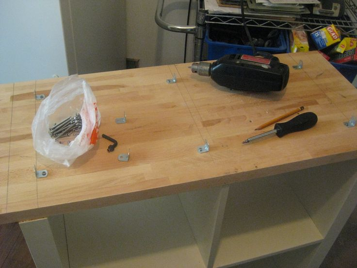 Expedit Rolling Kitchen Island - IKEA Hackers - IKEA Hackers