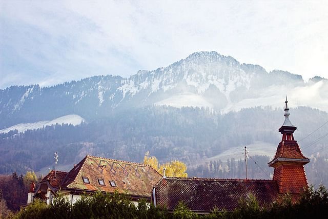 mountains in Broc Visit Switzerland La Suisse by Shiny Thoughts, via Flickr