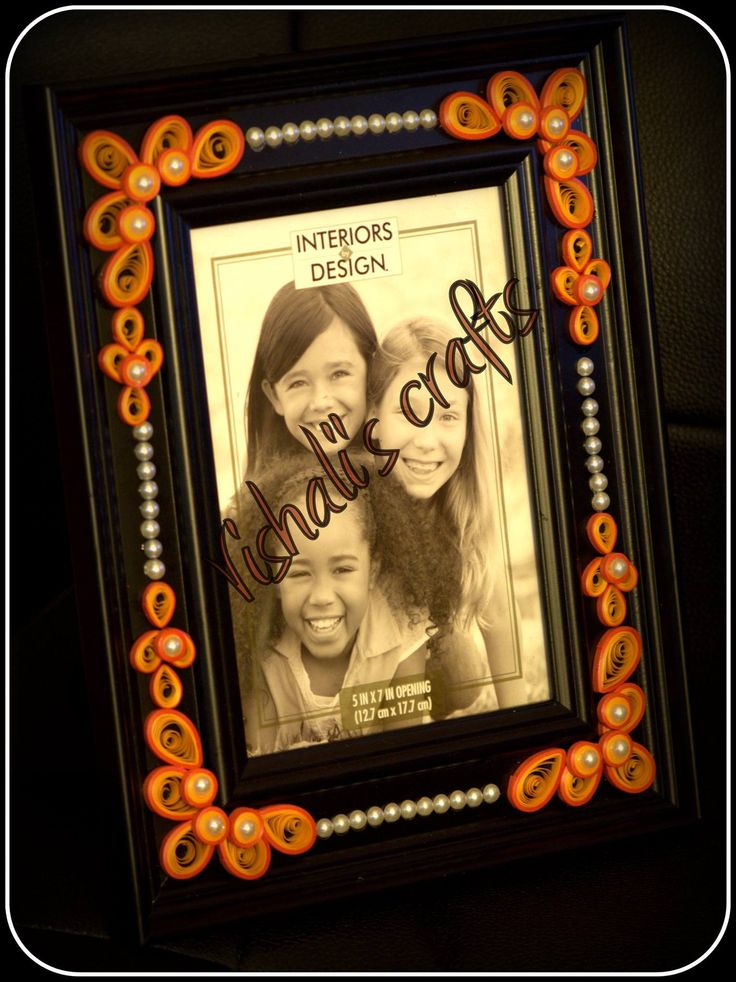 Paper quilled Photo frame - :