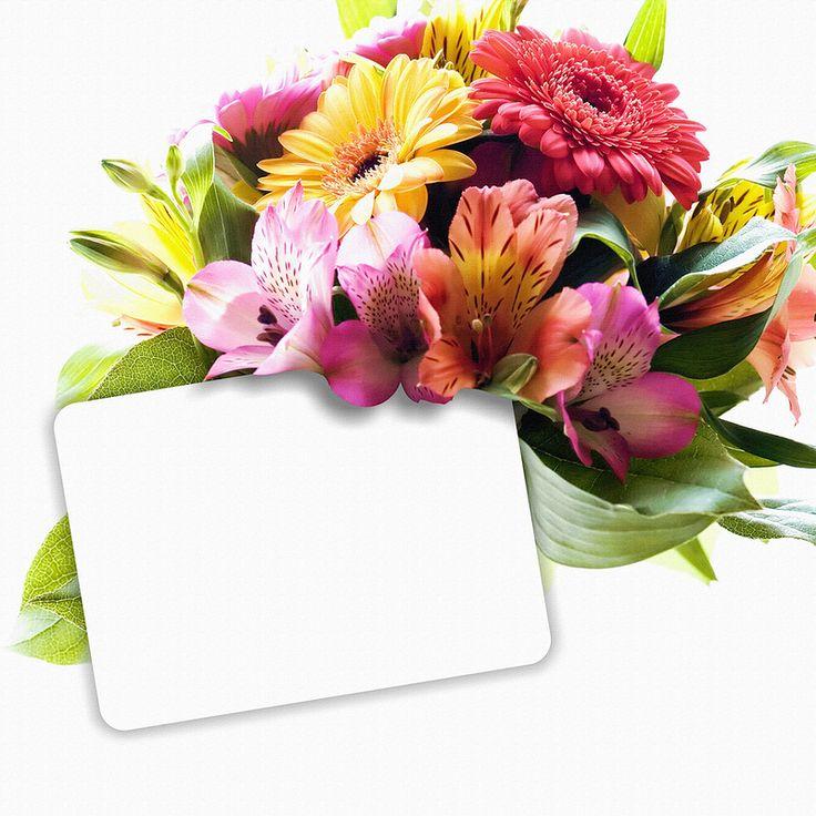 Надпись в открытке к цветам с днем рождения, знакомой днем рождения