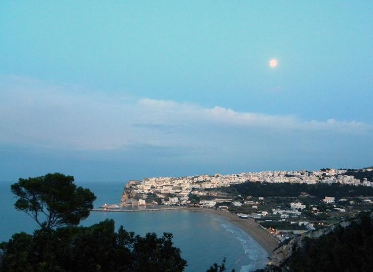 The Moon of Peschici