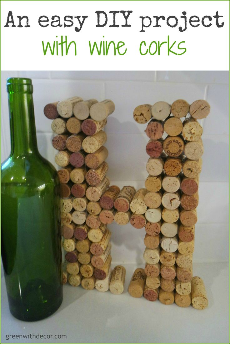 An easy DIY project with wine corks