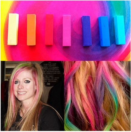 Set of Hair Chalk - 24 Colors - Save 81% Just $19