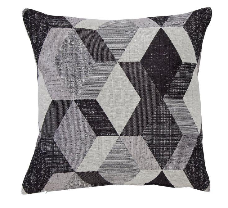 Argos Home Geometric Cushion Monochrome Geometric Cushions Cushions Argos Home