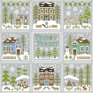This pattern pack includes all nine patterns in the Frosty Forest Series from Country Cottage Needleworks. Click on highlighted links to ord...
