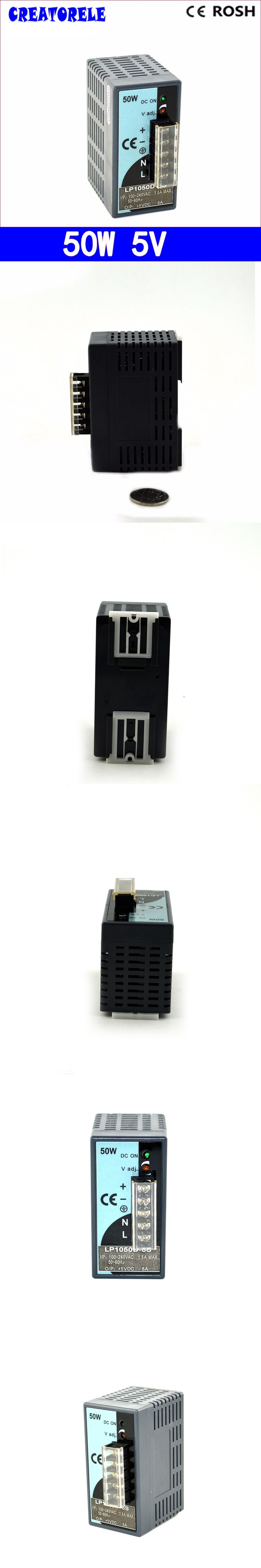 ac to dc 5V 10A 50W Mini size Transformer -Strip Iight Ied driver source swtching pwer supIy voIt