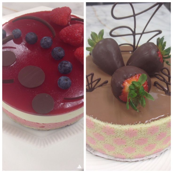 My mousse cakes