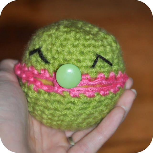 Grietjekarwietje: Haakpatroon appelhoesje / Crochet pattern apple cosy. FP 2/15