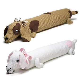 Knitted Dog Draught Excluder   Craft Ideas & Inspirational Projects   Hobbycraft
