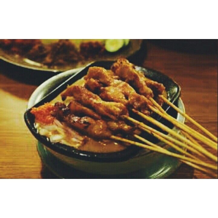 Satay from indonesia