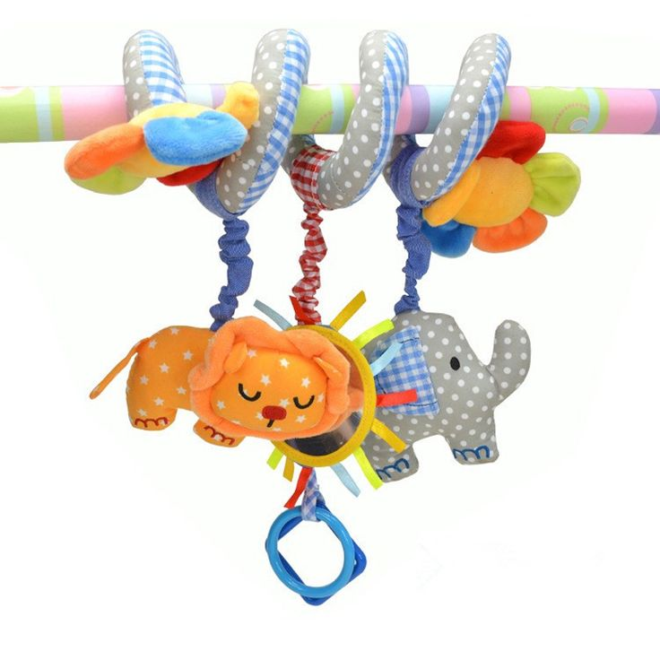 Abbyfrank Baby Crib Mobile Musical Baby Toys 0-12 Months Elephant Lion Flower Bed Crib Baby Rattle Hanging Car Stroller Pram Toy #Affiliate