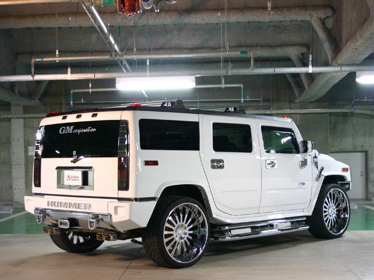 Hummer H2 Custom White   Cheiro de gasolina e asfalto ...