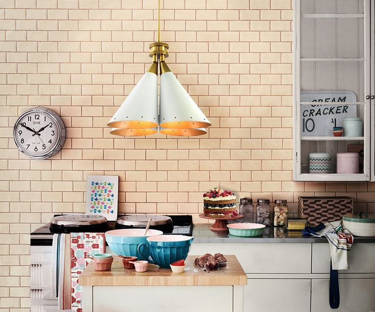 The MADELEINE SUSPENSION LAMP by Delightfull provides to your kitchen the soft look that you desire! The best inspiration for interior design project.