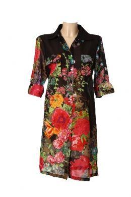 Vestido Camisero Bouquet I - Para una primavera elegante!...