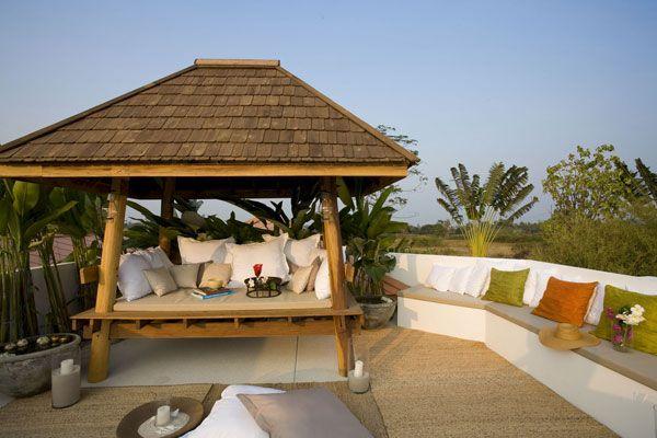 gazebo outdoor room rooftop inspiration