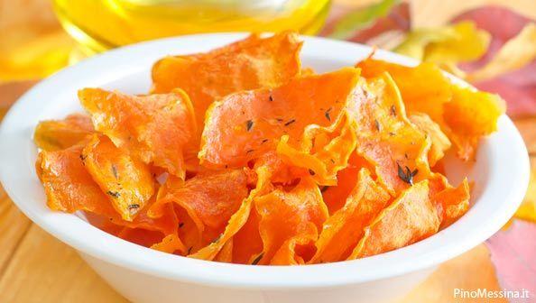 Come fare le chips di zucca