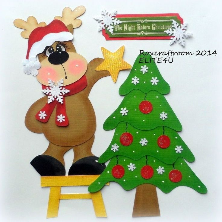 madera navidad goma eva adornos navideos diciembre compartir peluches mam fieltro tarjetas