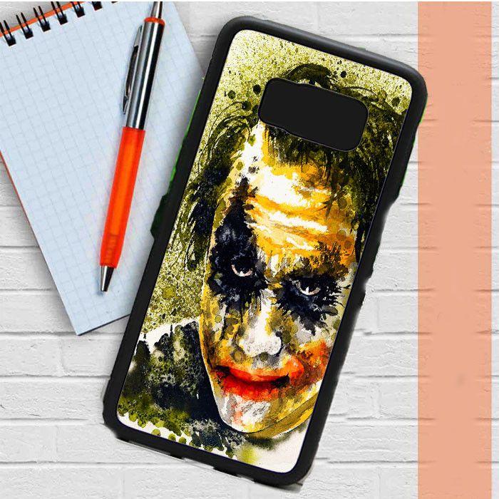 Joker Paint Art Samsung Galaxy S8 Plus Case Dewantary