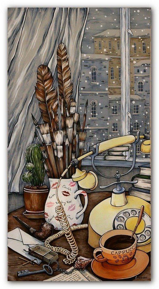 Интересная художница Мария Каминская