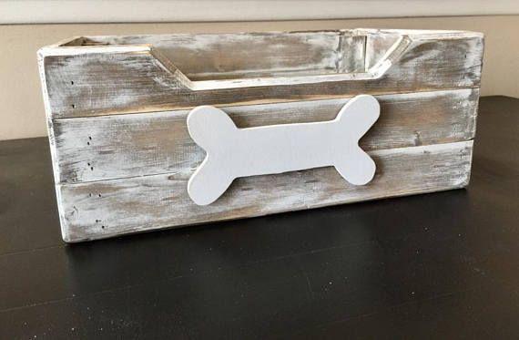 Rustic Dog Toy Box