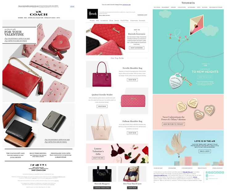 It's Saint Valentine's Day! Bags, chocolates, flowers and…email marketing!