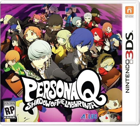 Persona Q Shadow Of The Labyrinth 3ds Roms Download With Images