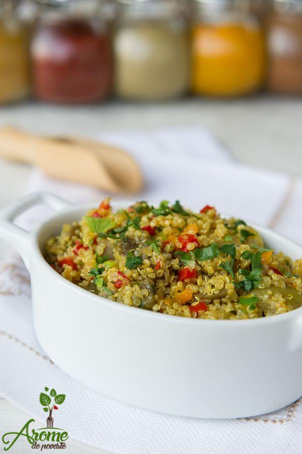 Pilaf de quinoa cu legume - Arome de poveste