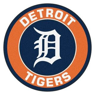 Shop for Fanmats MLB Detroit Tigers Orange Nylon Roundel Mat (2'3 x 2'3). Free Shipping on orders over $45 at Overstock.com - Your Online Collectibles Outlet Store! Get 5% in rewards with Club O!