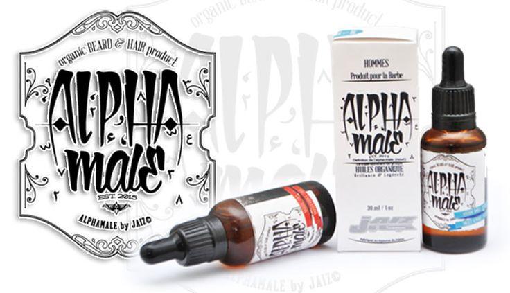 Alphamale huile pour barbe, cheveux et meme la peau sa reste de l huile naturellement presser a froid www.atijarrashop.com