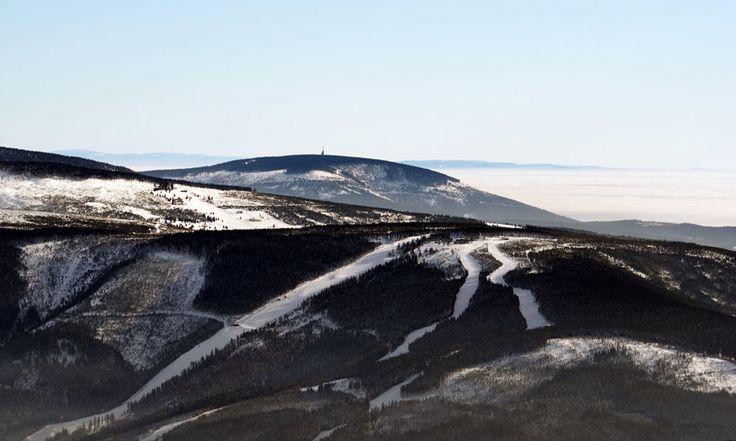 Śnieżnik i Góry Orlickie z Kotela, Poland
