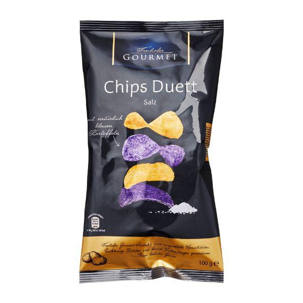FREIHOFER GOURMET Chips Duett von ALDI Nord Gourmet