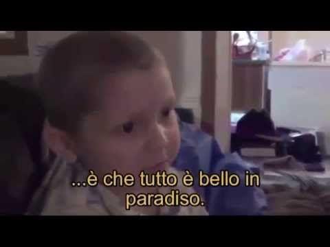 Bimbo di 4 anni commuove il web: descrive il Paradiso prima di morire