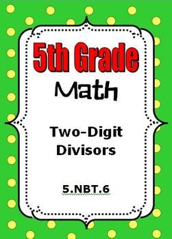 5th grade math division with 2 digit divisors 5 nbt 6 teaching student centered resources. Black Bedroom Furniture Sets. Home Design Ideas