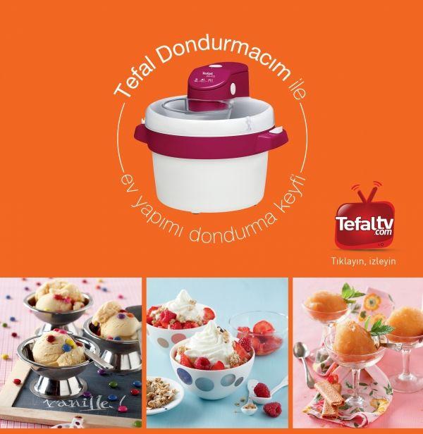 Tefal Dondurmacım Dondurma Makinası :: SEVİLCAN BG