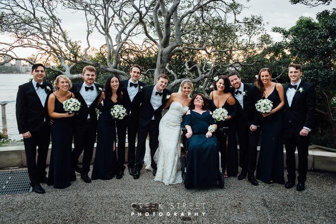 Wedding Photos from Bradleys Head - bridal party #bridalparty #bradleysheadwedding