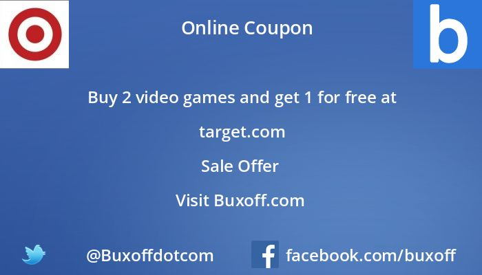 Latest target Coupon on Buxoff Visit to know more