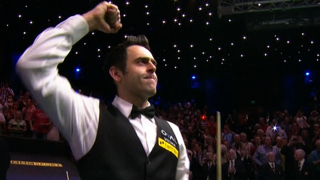 Ronnie OSullivan won his fifth World Championship crown with an 18-12 victory over a game Barry Hawkins.