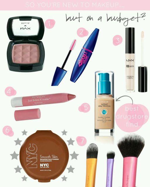 1000+ Ideas About Basic Makeup Kit On Pinterest