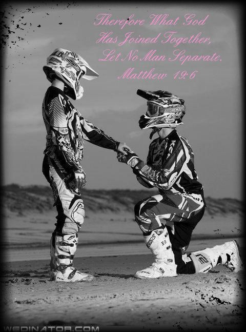 Motocross Proposal picture created by Jessica Wilson. Image tagged with: couples, cute, beautiful, love, jessica and was added on 2012-08-10 23:52:33.