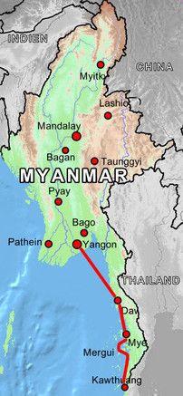 Mergui-Archipel Insel-Rundreise Auf dem Weg zur südlichsten Spitze Myanmars - 9T/8N